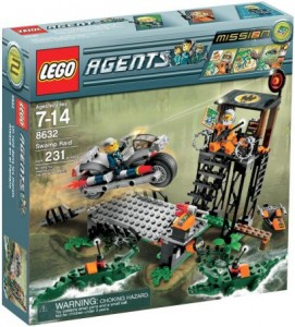 lego agents mission 2 swamp raid toy brix and blox. Black Bedroom Furniture Sets. Home Design Ideas