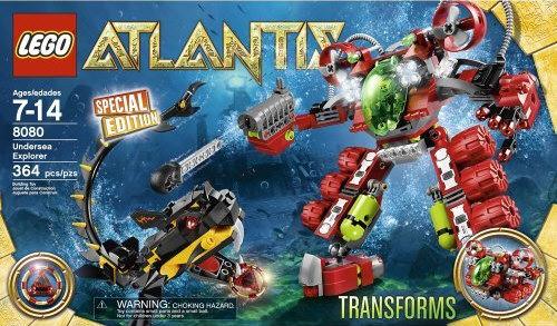 lego atlantis monster crab clash instructions