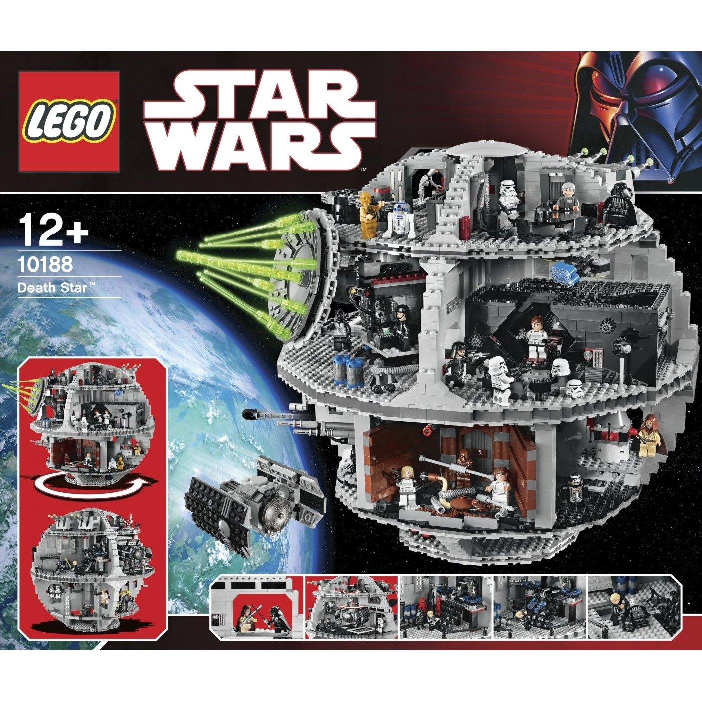 Lego Star Wars Death Star Toy Brix And Blox