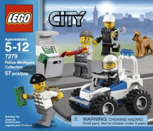 Lego City Police Minifigure Collection Toy Brix And Blox