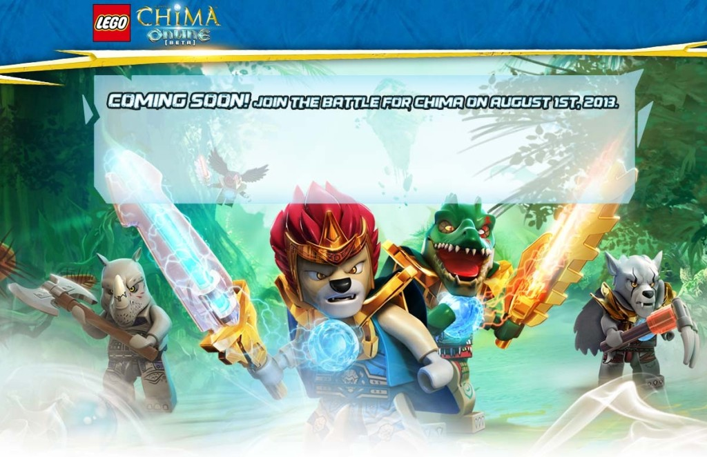 Legends of Chima Online Coming Soon Picture